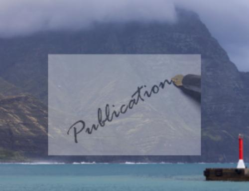 Publication: Marine World Heritage & Communication